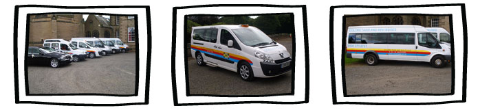 Taxis & Minibuses Durham, Newcastle, Sunderland - North East
